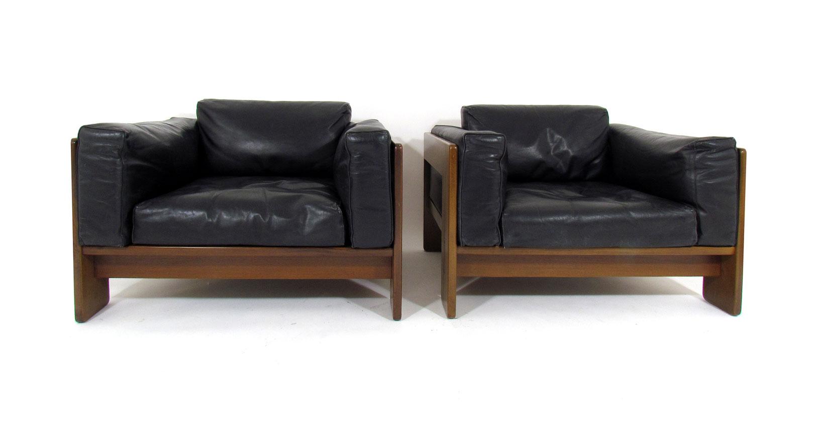 bastiano armchair tobia scarpa gavina knoll design vintage iconicdesign leather pelle furniture