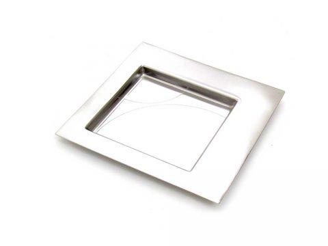 cleto munari plate forme contemporanee mattia pastorino design vintage iconic design piatto vassoio silver cromo