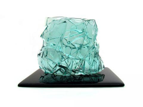 nuvola scultura vetro glass sculpture furniture vintage design iconic design cristallo crystall leonardo nobili fiam