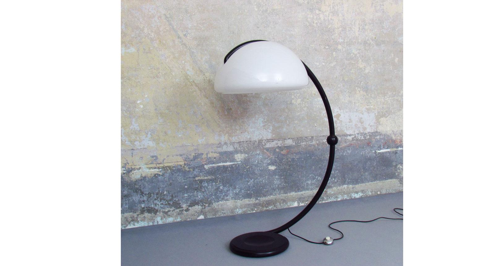 serpente vintage iconic design furniture martinelli elio luce light martinelli luce mid century lamp flos oluce artemide floor lamp