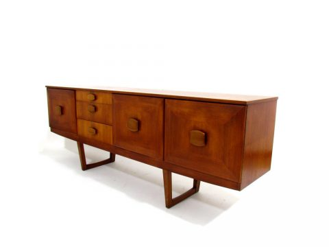 sideboard stonehill furniture '60 danish scandinavian vintage teak danese scandinava credenza