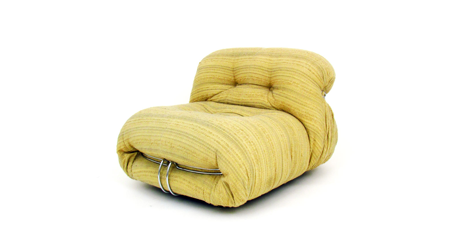 soriana armchair afra tobia scarpa poltrona tessuto fabric cassina vintage design