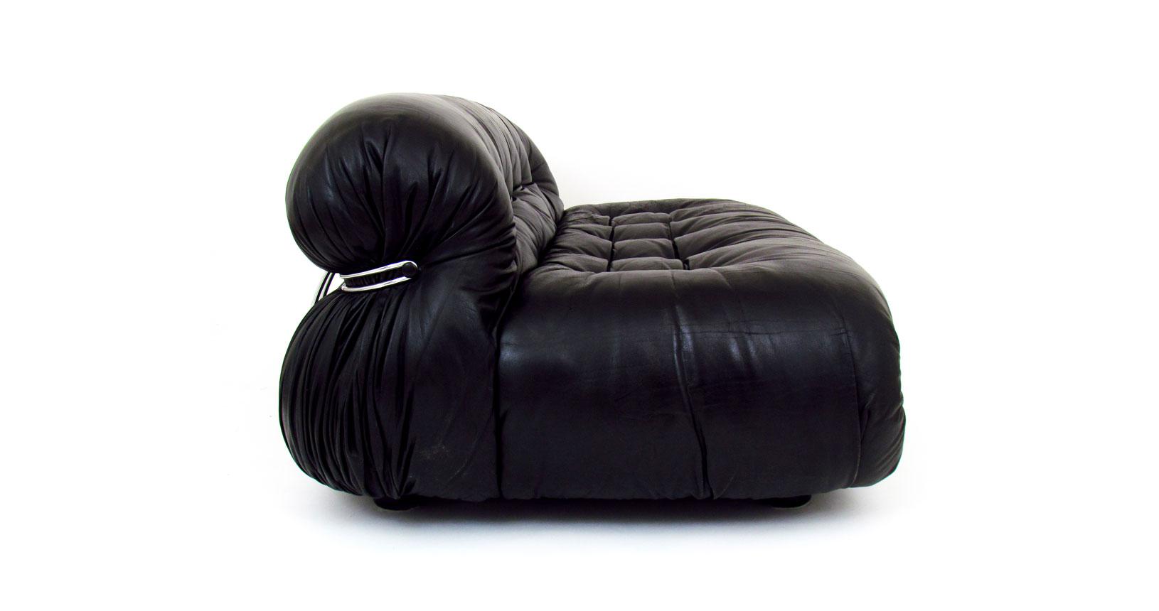 soriana sofa afra tobia scarpa divano pelle leather cassina vintage design