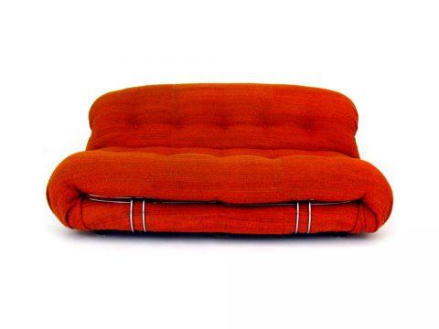 soriana sofa afra tobia scarpa divano tessuto fabric cassina vintage design