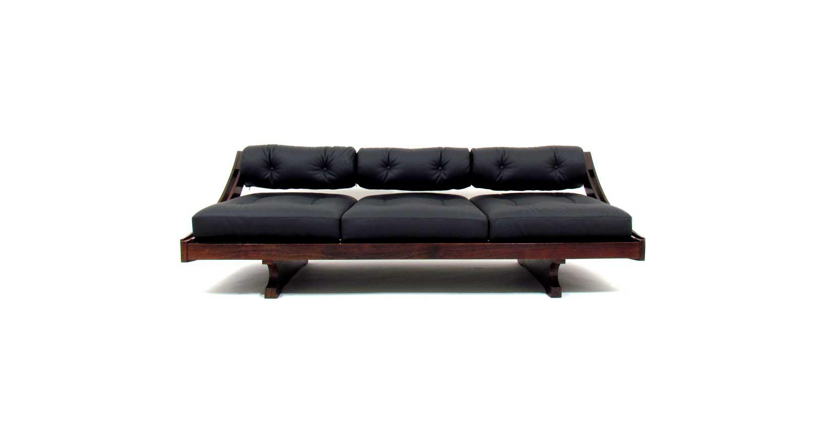 sormani gianni songia gs195 divano sofa sofabed leather vintage iconic design furniture