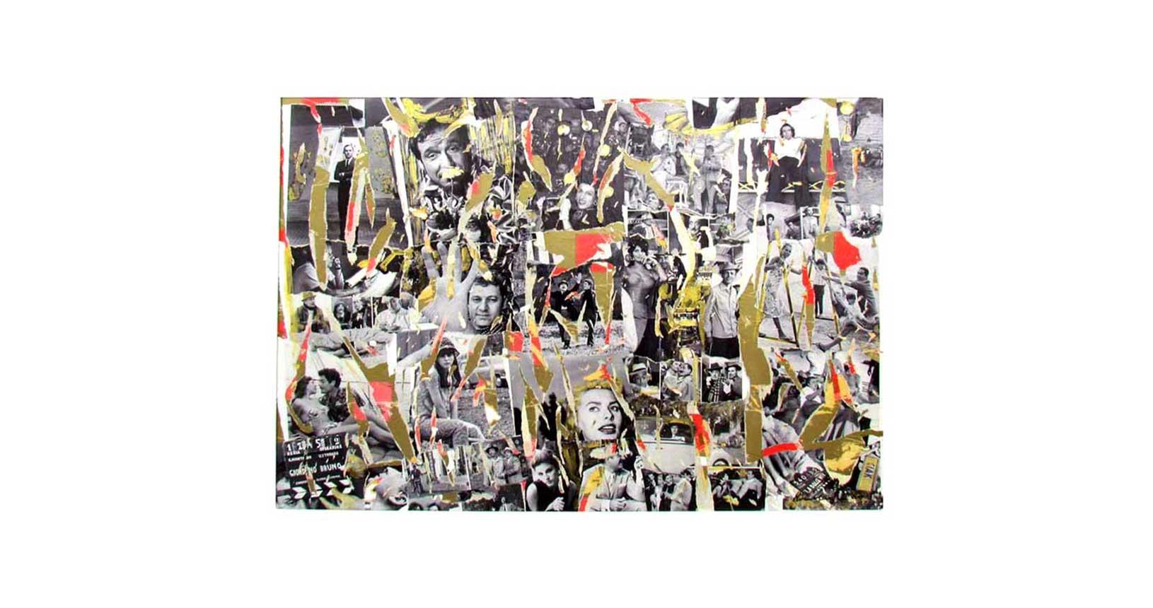 art vintage iconic design furniture riccardo serafini mimmo rotella jacques villeglè arte contemporanea street art raymond hains cinecittArt cinecittà cinema roma sophia loren totò
